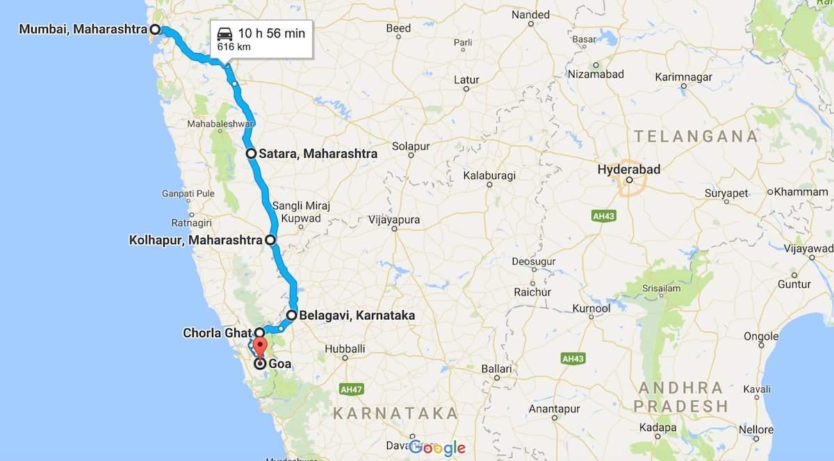 Mumbai goa road map - Mumbai to goa road map (Maharashtra - India) on national capital region road map, mumbai road map, newfoundland labrador road map, india road map, goa road map, gujarat state india map, rajasthan road map, nandi hills road map, pakistan road map, tipu sultan road map, pune road map, damoh road map, rayalaseema road map, maharashtra road map, chhattisgarh road map, london road map, tamil nadu road map, dharmasthala to horanadu road map, u.p. road map, chihuahua road map,