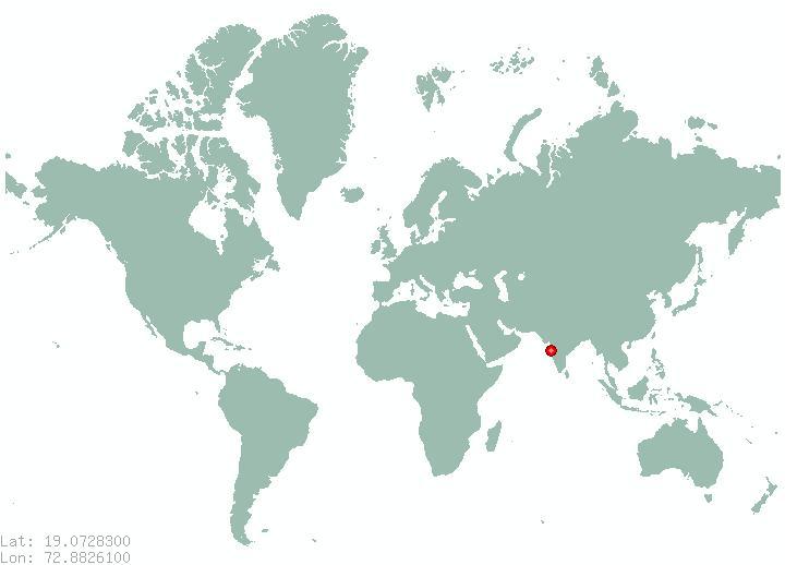 Mumbai world map mumbai on world map maharashtra india mumbai on world map gumiabroncs Gallery