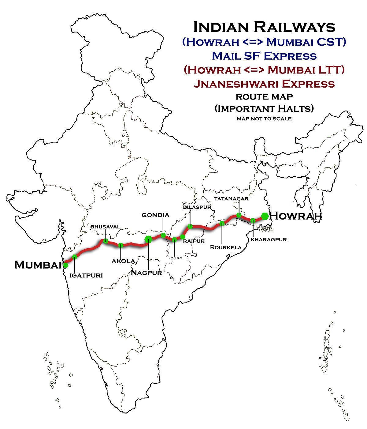 Nagpur Mumbai new highway map Nagpur Mumbai express highway map