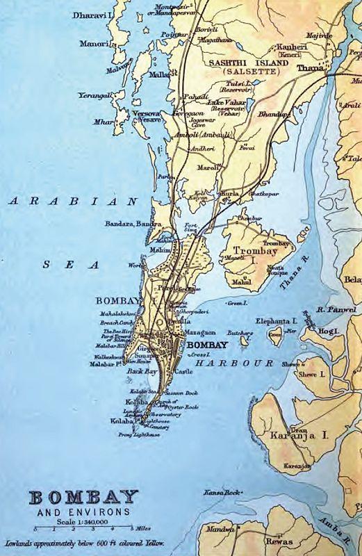 Mumbai On Map Of India.Map Mumbai Maharashtra India Babymobility Store