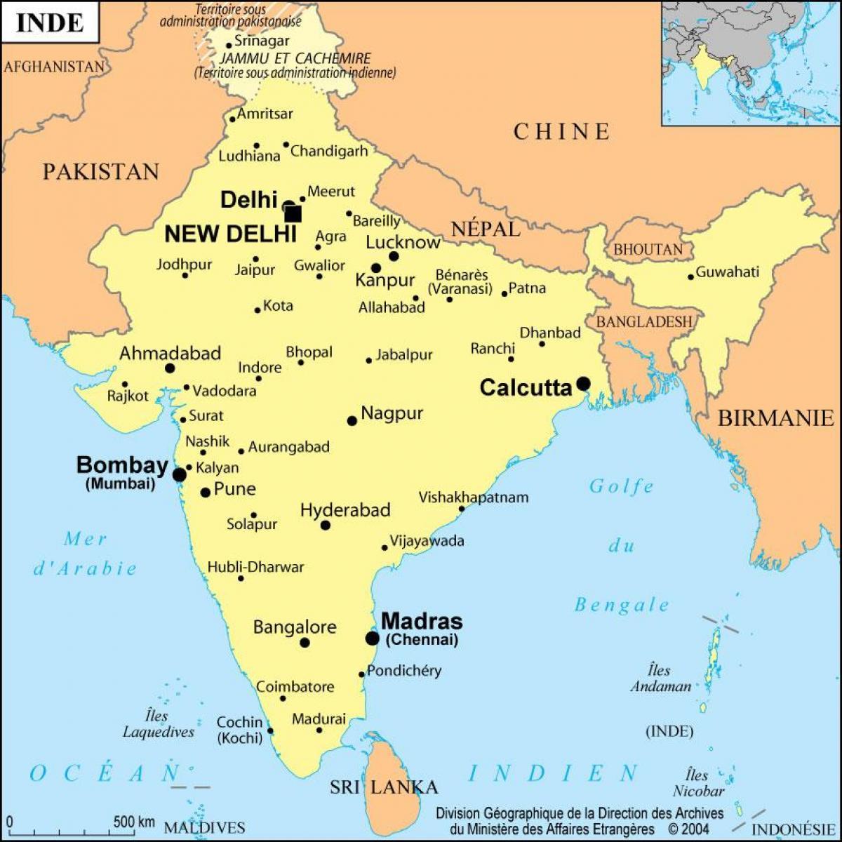 Bombay India Map Bombay india map   Map of Bombay india (Maharashtra   India)