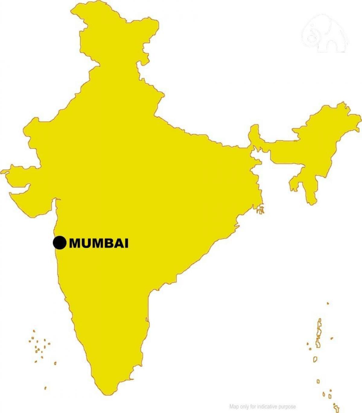 mumbai in map